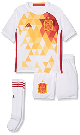 5465eb933b adidas 2ª equipación Selección Española de Futbol 2016-2017 - Conjunto  Camiseta y pantalón Corto Oficial  Amazon.es  Zapatos y complementos