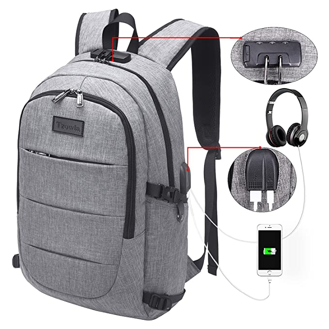 Review Tzowla Business Laptop Backpack
