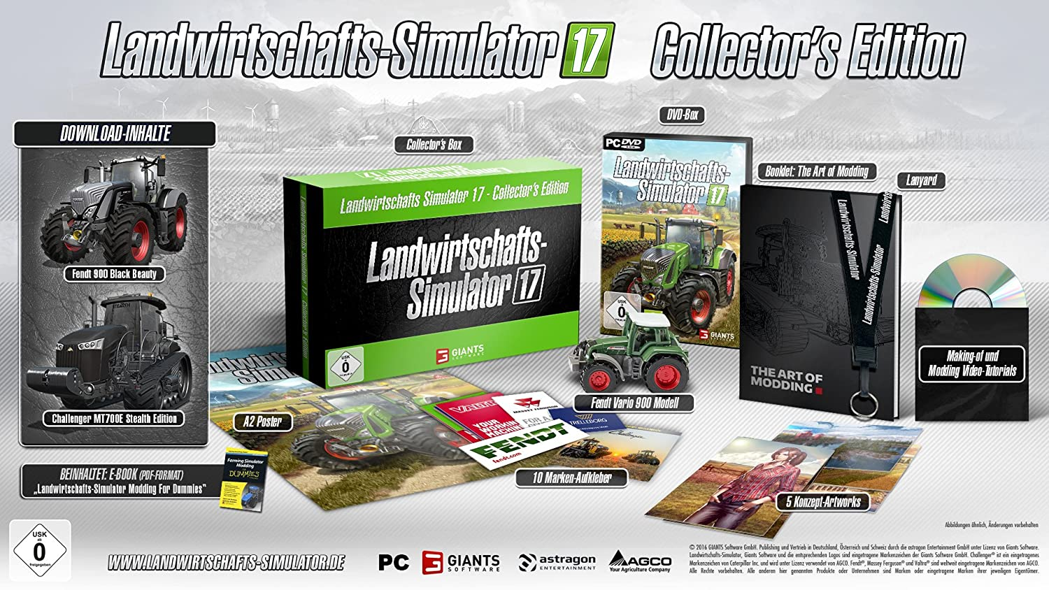 Landwirtschafts-Simulator 17 - Collector\'s Edition [PC]: Amazon.de ...