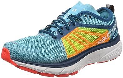 f2a3cea9d1ec Amazon.com  Salomon Sonic RA Women s Shoes Blue Curacao Yellow  Shoes