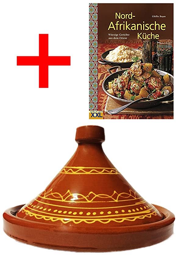Marrakech Accessoires - Tajín marroquí (olla para cocinar + ...