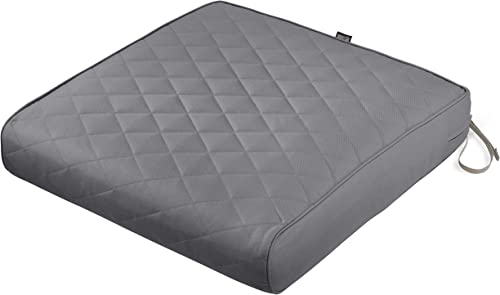 Classic Accessories Montlake Water-Resistant 25 x 25 x 5 Inch Square Patio Quilted Lounge Cushion Review
