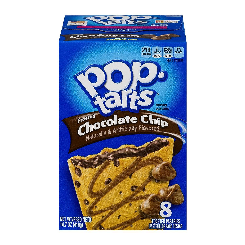 Kelloggs Pop-Tarts Chocolate Chip 8 piece (416g): Amazon.es: Alimentación y bebidas