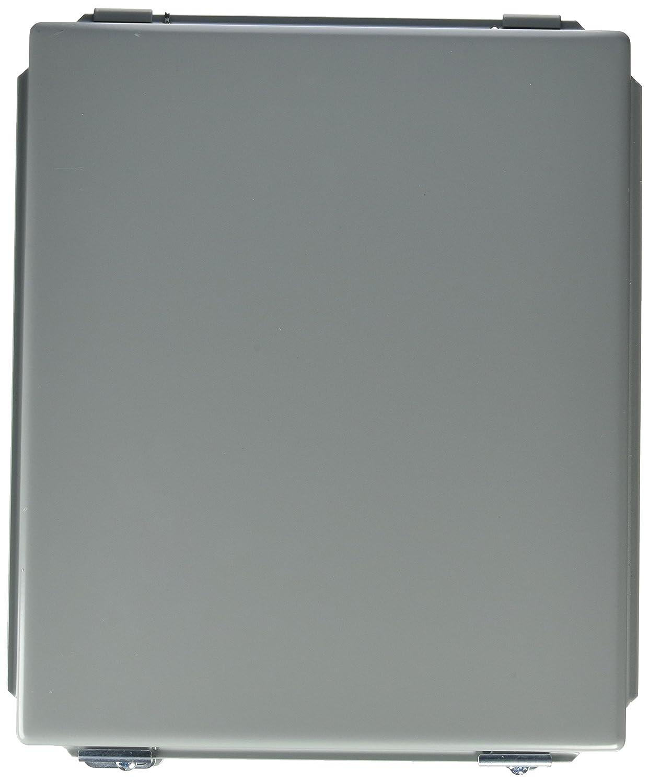Steel Lift-Off Cover Hoffman A1210LP J Box Gray 12.00 x 10.00 x 5.00 HFA1210LP 12.00 x 10.00 x 5.00 NEMA 12