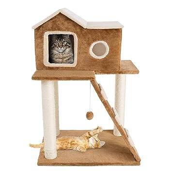 Amazon.com: Petmaker - Árbol de peluche de 3 niveles para ...
