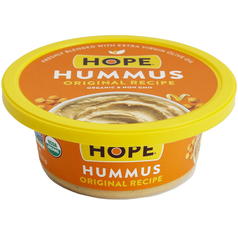 Hope Foods, Organic Original Hummus, 8 oz