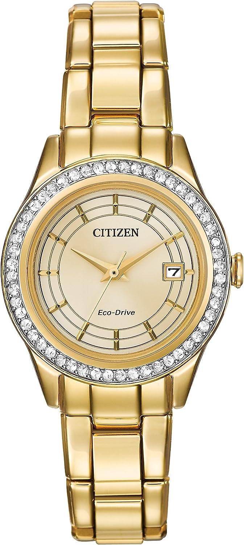 Cristal de Cuarzo de la Silueta de Las Mujeres Reloj de Pulsera con Pantalla analógica y Plateado de Acero Inoxidable de la Pulsera