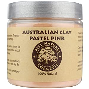 Australian Pastel Pink Clay 100% Pure Natural 4 oz