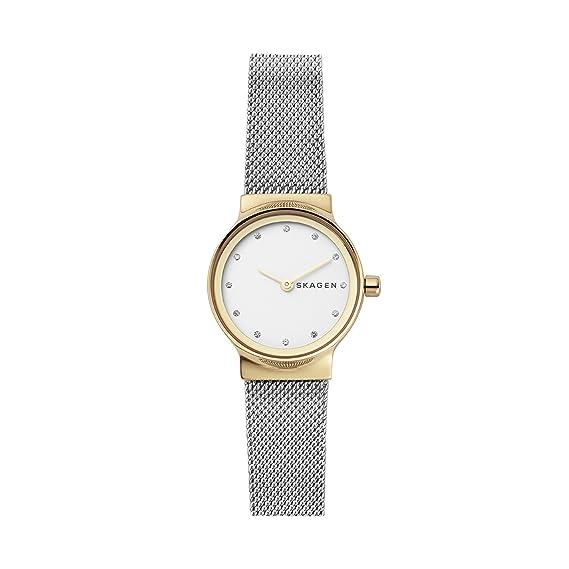 Skagen Reloj Analogico para Mujer de Cuarzo con Correa en Acero Inoxidable SKW2666: Amazon.es: Relojes
