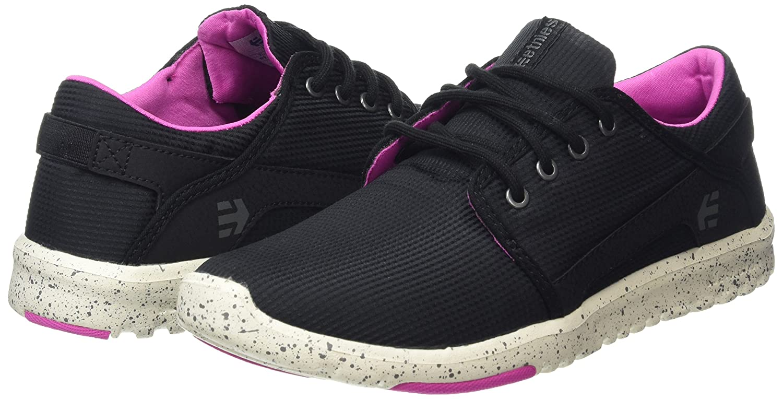 Etnies Damen (549 Scout W's Skateboardschuhe Schwarz (549 Damen , schwarz/schwarz/Pink) f636e5