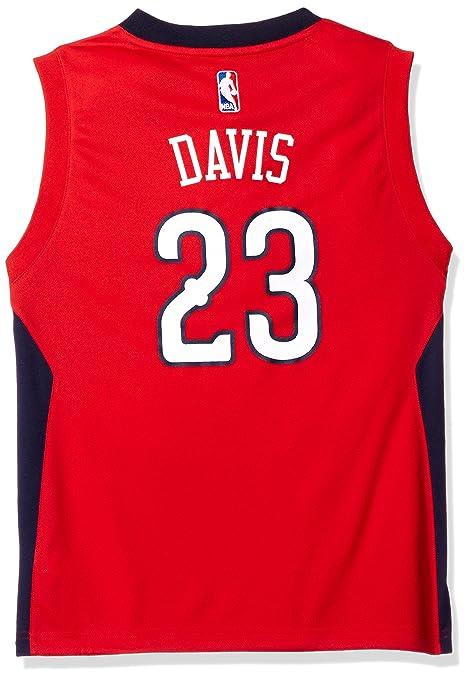 76a013041 ... get outerstuff nba youth 8 20 new orleans pelicans davis replica alternate  jersey red 7ae9e 54e1d