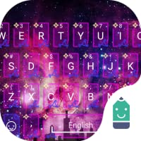 Sparkling Night Theme&Emoji Keyboard