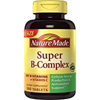 Nature Made Super-B Complex with Vitamin C, 360 Tablets