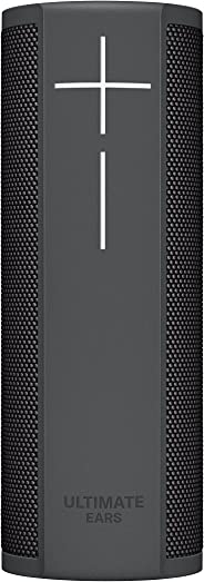 Ultimate Ears BLAST Portable Waterproof Wi-Fi and Bluetooth Speaker with Hands-Free Amazon Alexa Voice Control - Graphite Bla