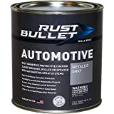 RUST BULLET Automotive - Rust Preventive Protective Coating, Rust Inhibitor Paint, UV Resistant - No Topcoat Needed (Quart, M