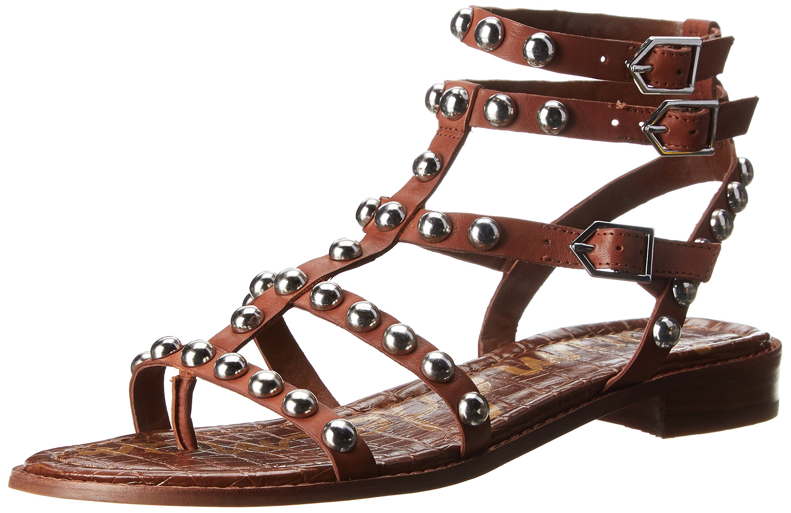 Sam Edelman Women's Eavan Gladiator Sandal, Deep Saddle, 6.5 M US by Sam Edelman