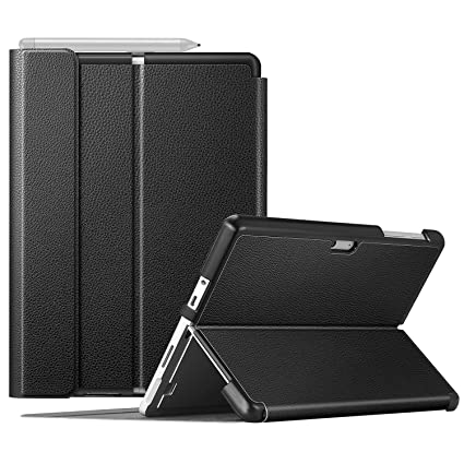 Fintie Protective Case for Surface Go - Multiple Angle Hard Shell Business Cover, Compatible with Type Cover Keyboard for Microsoft Surface Go 10-inch ...