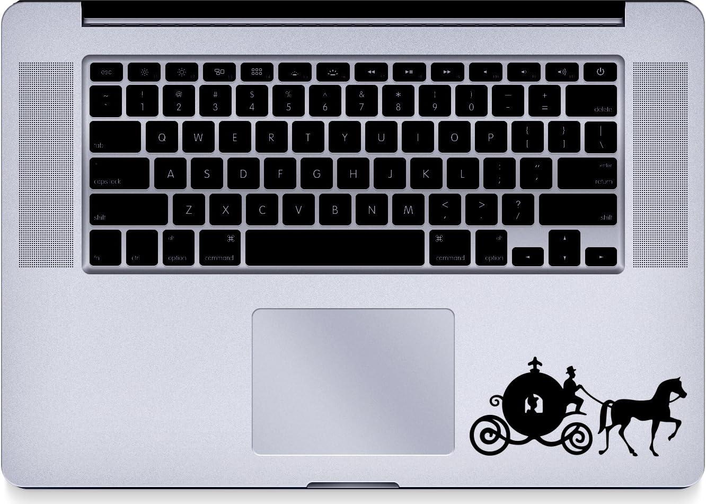 Cinderella - Pumpkin - Trackpad - Macbook - Decal - Keyboard