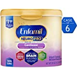 Amazon Price History for:Enfamil NeuroPro Gentlease Infant Formula - Clinically Proven to Reduce Fussiness, Gas, Crying in 24 Hours - Brain Building Nutrition Inspired by Breast Milk - Reusable Powder Tub, 20 oz (Pack of 6)
