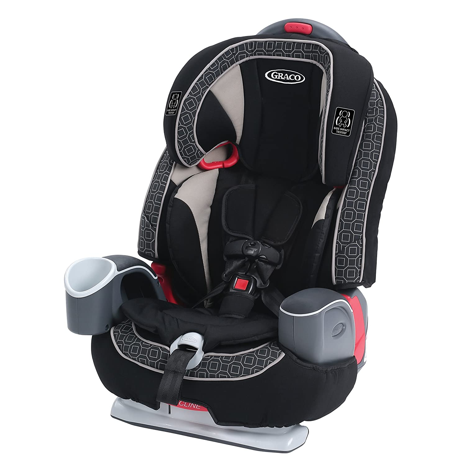 Graco Nautilus 65 LX 3 in 1 Harness Booster Car Seat, Pierce