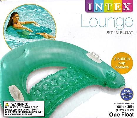 INTEX Sit N Float – Colchoneta hinchable para piscina, forma de ...