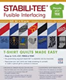 "C&T PUBLISHING Stabili-TEE White Fusible T-Shirt Interfacing 60"" By The Yard"