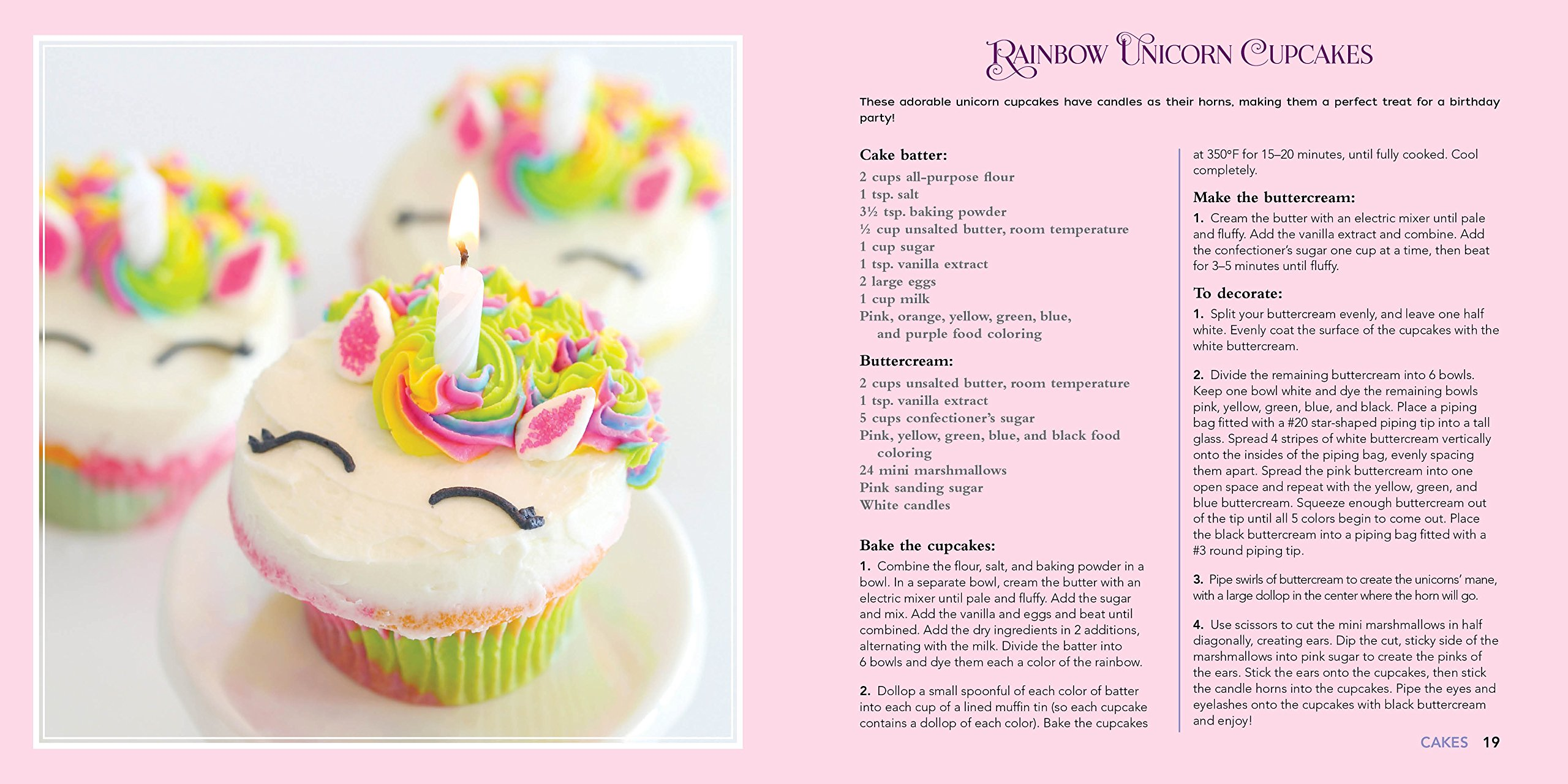 Unicorn Food: Rainbow Treats and Colorful Creations to Enjoy and Admire (Whimsical Treats) 8