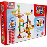 FLYING START Marble Run 53 Pcs STEM Toy Building Blocks Learning and Educational Construction Toy