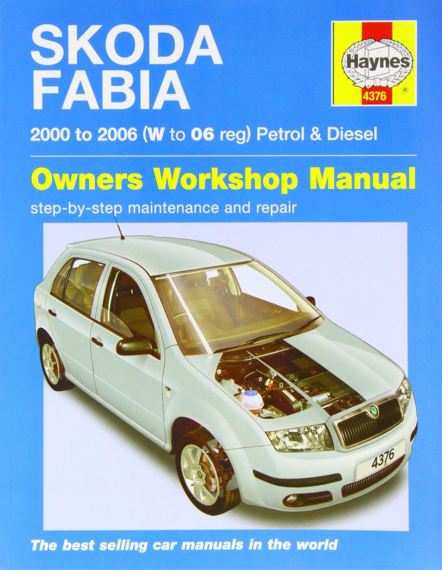 Skoda Fabia Service and Repair Manual (Haynes Service and Repair Manuals):  9780857339324: Amazon.com: Books