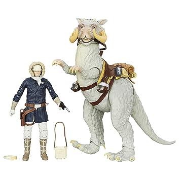 Hasbro - Figurine Star Wars Black Series - Han Solo et Tauntaun 15cm ...