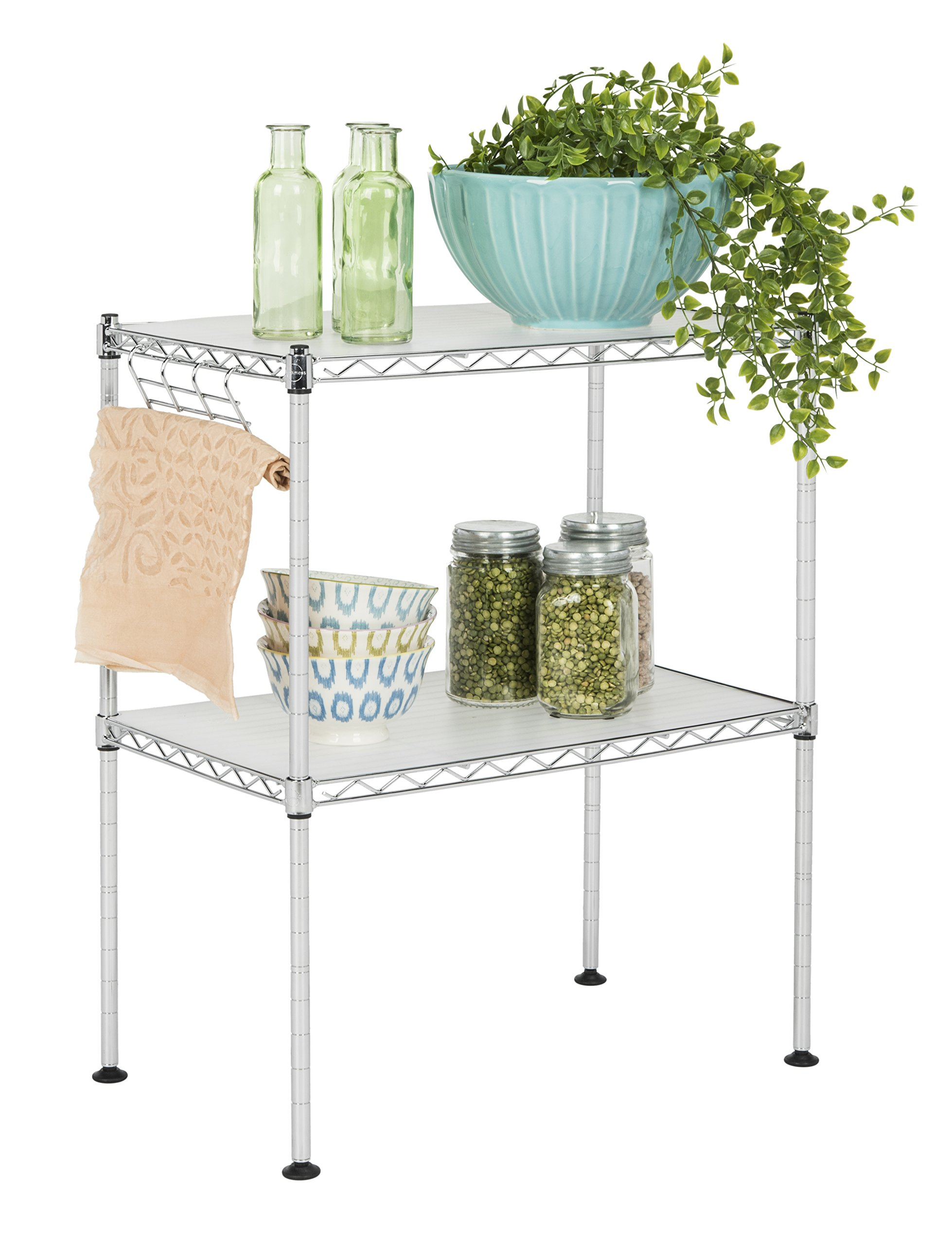 happimess HPM5013A Racking, 19.69 in. W x 11.81 in. D x 23.62 in. H, Silver by happimess (Image #7)