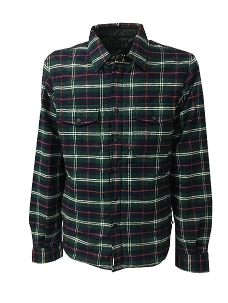 ASPESI giacca camicia uomo disegno madras modello PIOGGIA SCOZZESE (XL - IT  52) 00b96cba24b