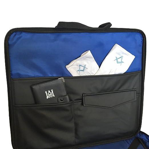 49ab55653a Masonic Superior Grand Rank Regalia Soft Case Apron Holder Shoulder Bag  Cordura  Amazon.co.uk  Garden   Outdoors