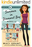 Summer in Diamond Bay Complete Bundle: Books 1-5 (A Nanny Blu Cozy Mystery Series)