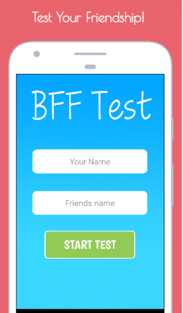 Buy friend quiz game