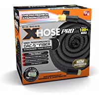 Xhose Pro DAC-5 High Performance Lightweight Expandable Garden Hose with Brass Fittings