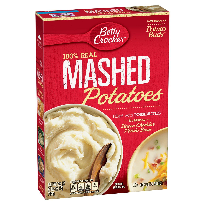 Betty Crocker Mashed Potato Buds 28 Ounce Pack Of 6