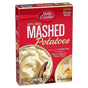 Amazon Betty Crocker Instant Mashed Potatoes 28 Oz Grocery