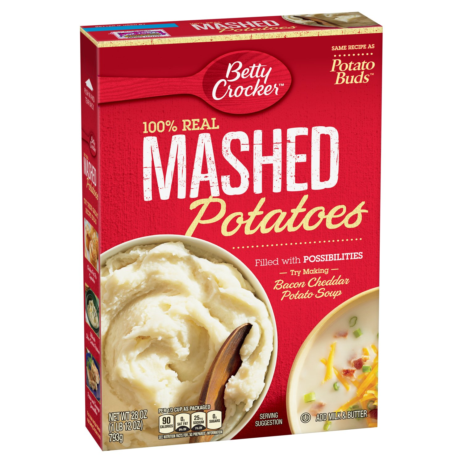 Betty Crocker Instant Mashed Potatoes, 28 Ounce