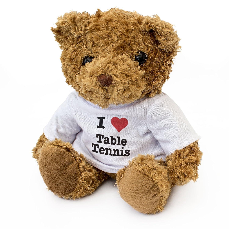 Teddy Bear Gift Present Birthday Xmas London Teddy Bears . Cute Soft Cuddly NEW I LOVE TABLE TENNIS
