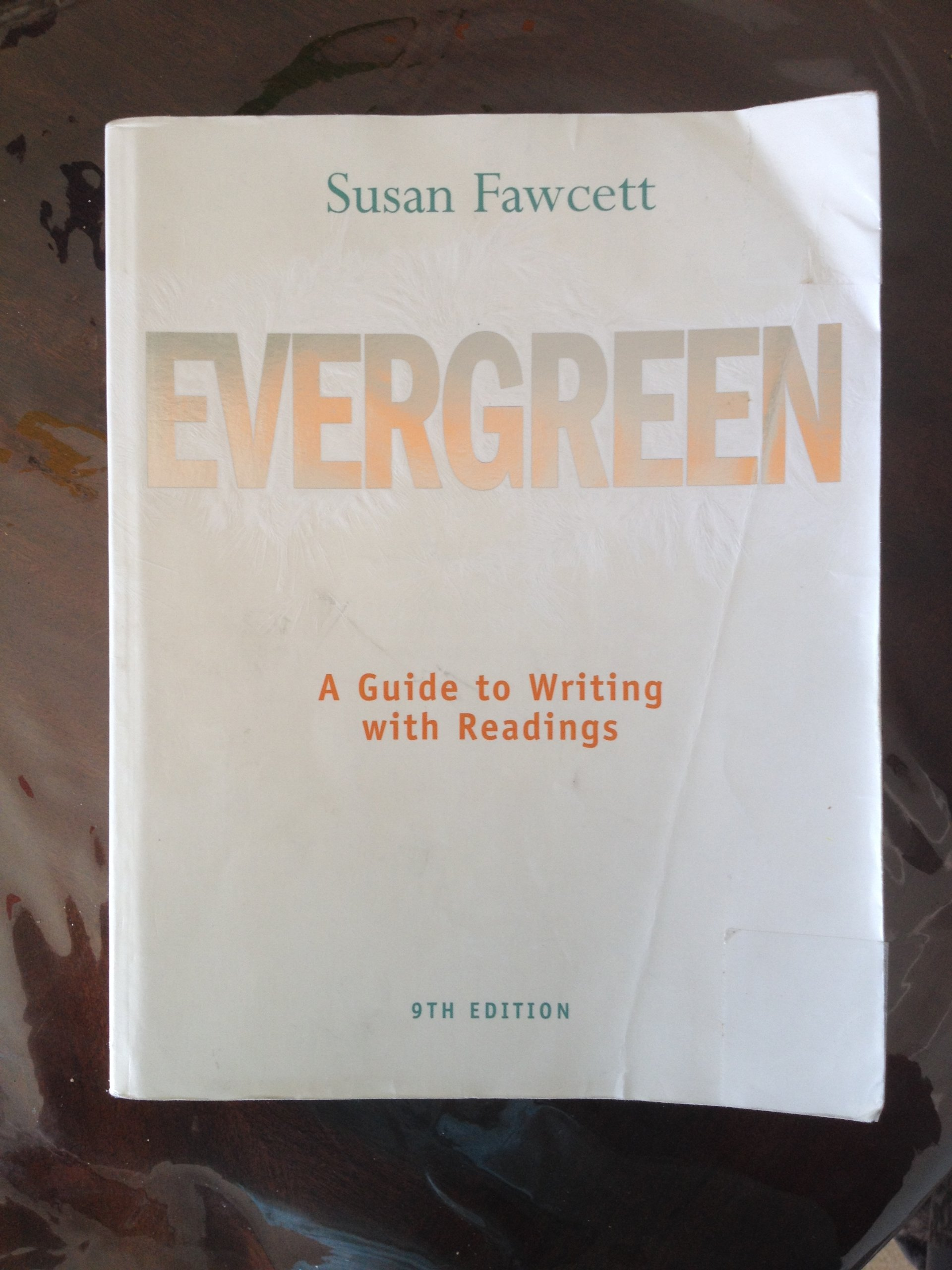 Evergreen 9th (nineth) edition Text Only ebook