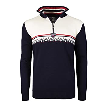 Dale of Norway Pull pour Homme Lahti, Couleur Bleu Marine, Taille L, 93241
