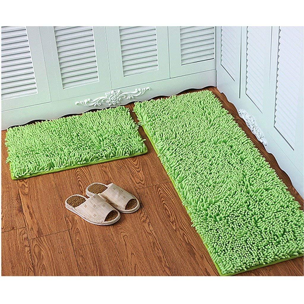 JU JU JU Chenille Matratze Tür Matratzen Schlafzimmer Tür Anti-Skid Pad Bad Küche Wasser Matte Mat Tür Matte B07HL64HX7 | Verrückter Preis, Birmingham  397f70