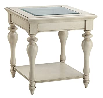 Attractive Stein World Furniture Delphi End Table, White