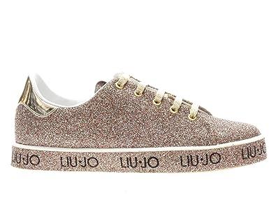 Liu Jo Ladies Shoes Sneakers Leona S67237t9575 A6505 - Glitter ... 66546e2db5d
