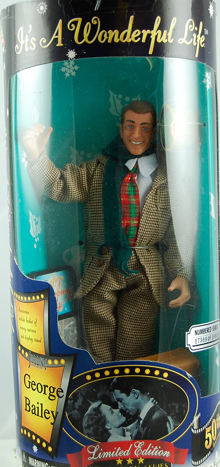 Its a Wonderful Life COLLECTORS 50TH EDITION Republic Entertainment George Bailey Figurine