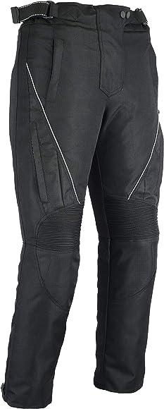extra/íbles con protecci/ón CE 100/% impermeable resistentes al viento PRO FIRST MB Pantalones de motociclista para mujer