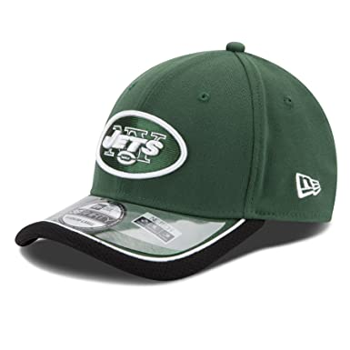 3fcc6f81f4a6d7 Amazon.com: New York Jets New Era 39THIRTY NFL 2014 On-Field Performance  Flex Hat: Clothing