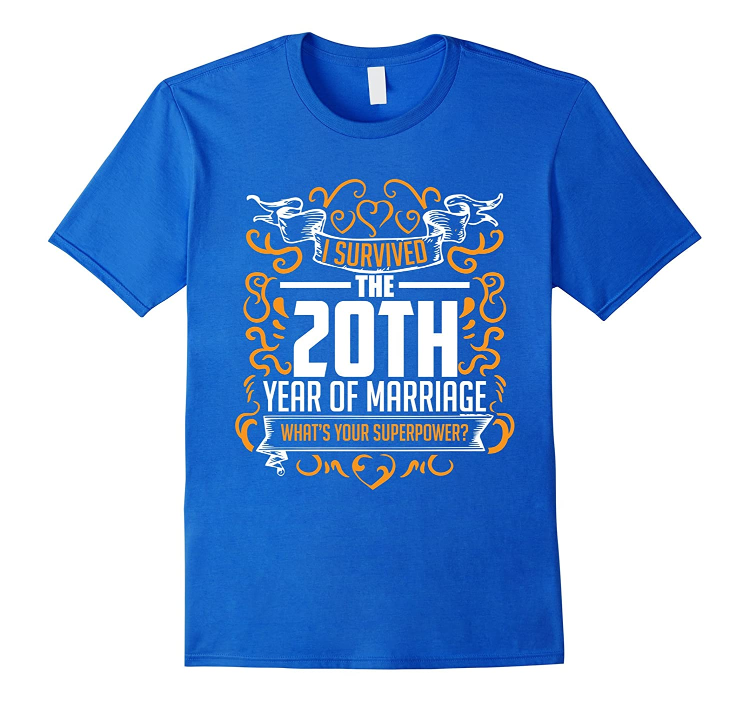 20th Wedding Anniversary Gifts 20 Year T Shirt For Her Him-RT ...