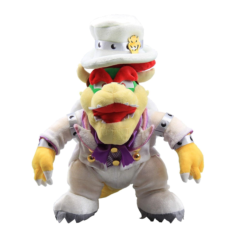Uiuoutoy Super Mario Odyssey King Bowser Wedding Plush Koopa Figure 14